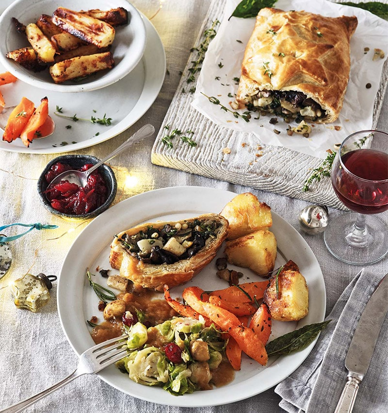 Veggie Christmas Lunch for 2